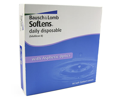 Soflens Daily Disposable (90 lentilles)