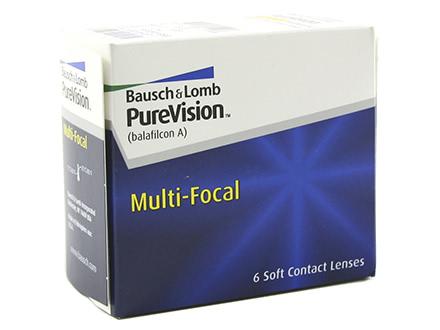 PureVision Multi-Focal (6 lentilles)