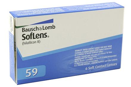 Soflens 59 (6 lentilles)