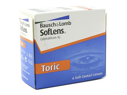 Soflens Toric (6 lentilles)