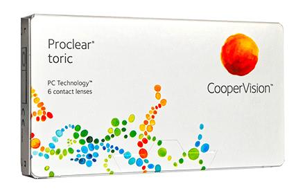 Proclear Toric (6 lentilles)