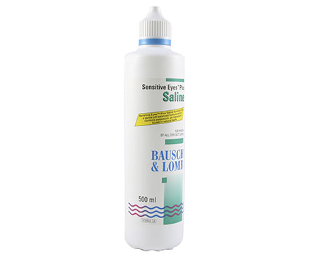 Sensitive Eyes Plus Saline (500 mL)