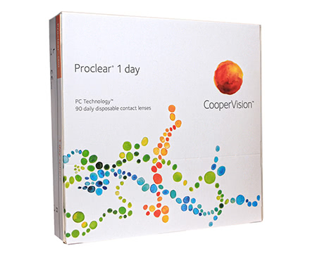 Proclear 1 Day (90 lentilles)