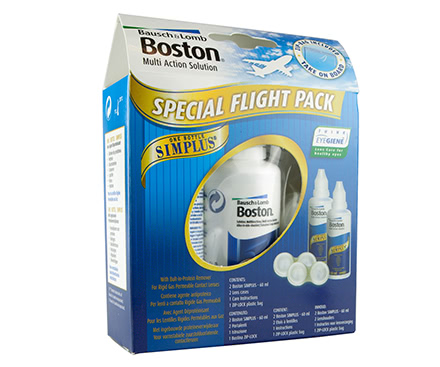 Boston Simplus Flight Pack (2x60 mL)