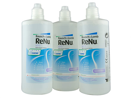 ReNu Solution Multifonctions 3x240 mL