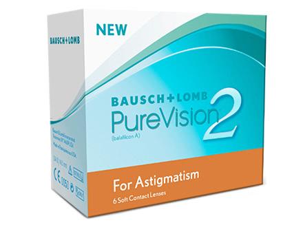 PureVision 2 HD for Astigmatism (6 lentilles)