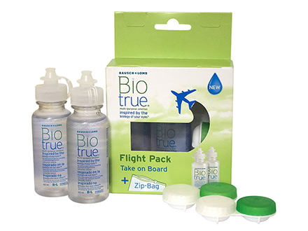 Biotrue Flight Pack (2x60  mL)