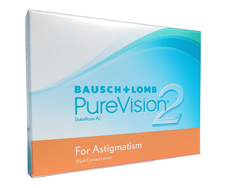 PureVision 2 HD for Astigmatism (3 lentilles)