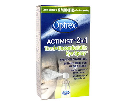 Optrex ActiMist 2in1 - Spray yeux fatigués