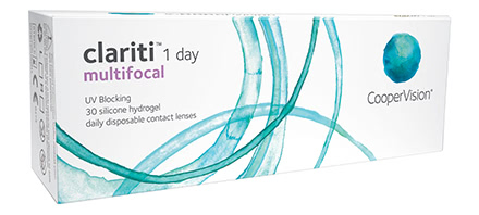 Clariti 1 Day Multifocal (30 lentilles)