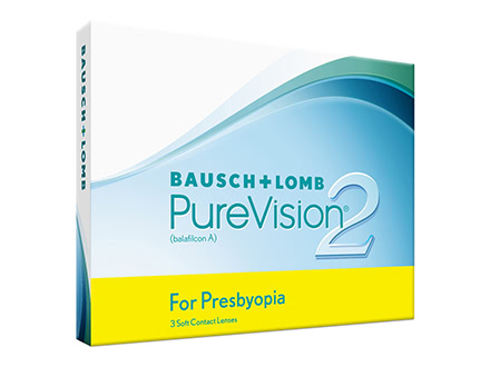 PureVision 2 HD for Presbyopia (3 lentilles)