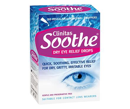 Clinitas Soothe - 20 dosettes (20x0,5 mL)
