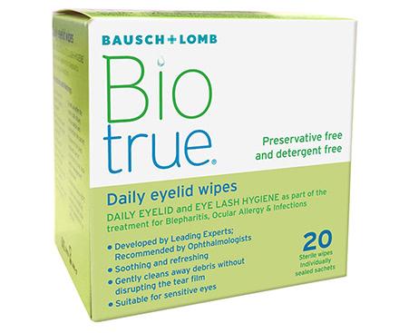 Biotrue Daily Eyelid - Lingettes