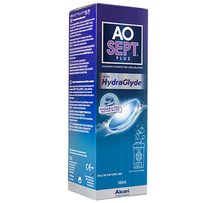 AOSept Plus HydraGlyde (360 mL)