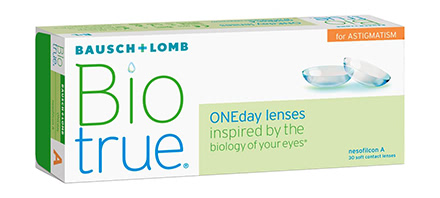 Biotrue ONEday for Astigmatism (30 lentilles)
